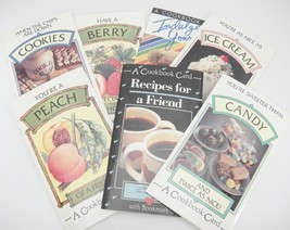 Vintage Cookbook Greeting Cards w Bookmarks Birthday Friend Lot of 7 by ... - $19.79