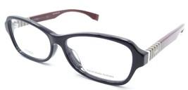 Fendi Rx Eyeglasses Frames FF 1004/F BBH 54-14-140 Blue Pqn Burgundy Asi... - $109.76