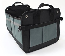 LK Auto Car Trunk Organizer Storage Cargo Box – Collapsible with Multipl... - $25.19