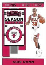 2019 Panini Contenders Basketball Card #63 Kris Dunn - $1.80