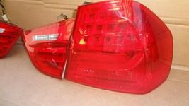 09-11 BMW E90 4dr Sedan Taillight lamps Set LED 328i 335i 335d 328 335 320i image 2