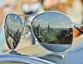 "New York City Wall Decor Sunglasses Print- ""New York View"" - $110.00"