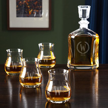 Glencairn Canadian Whiskey Set with Statesman Argos Decanter - $119.95
