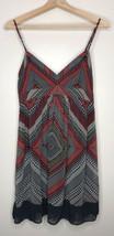 American Eagle Dress Spaghetti Strap Boho Dot Geometric Women's Size 6 - $23.36