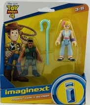 Imaginext~ Toy Story 4~ Combat Carl & Bo Peep - $13.81