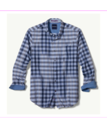 Tommy Bahama King Gingham Shirt , Ocean Deep, SIze XL, MSRP $145 - $67.10
