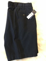 """NWT Mens Polo Ralph Lauren Classic Fit Pleated 9"""" Shorts Aviator Navy Size 40 - $38.61"""