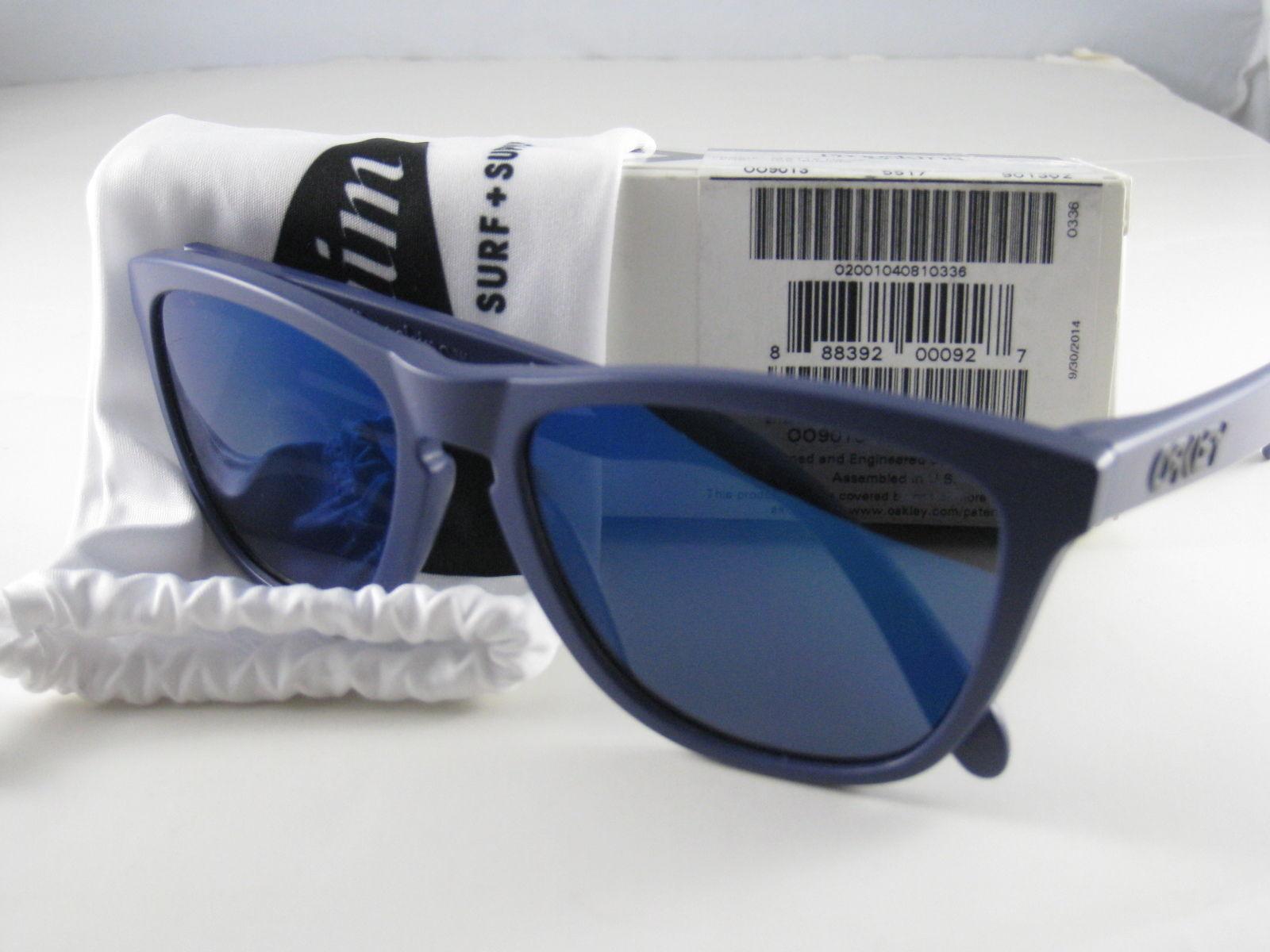 Oakley Frogskins Edizione Limitata Raggi Pellegrino Surf Spl Opache Blu Scuro W/