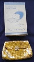 Whiting & Davis Gold Mesh Purse Vintage 1960s - $38.00