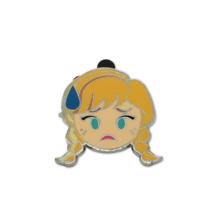 Disney Pins 2017 Emoji Blitz Booster Anna Nervous Frozen Emote - $6.79