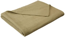 Superior 100% Cotton Thermal Blanket, Soft and Breathable Cotton for All... - $37.66