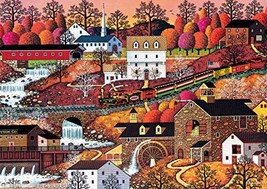 Buffalo Games - Charles Wysocki Americana Collection - Waterfall Valley - 500 Pi - $28.77