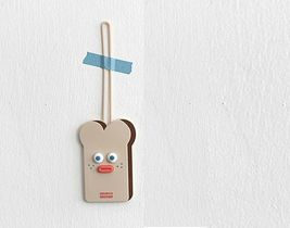 Brunch Brother Suitcase Luggage Tag popped Eyes Baggage Travel Bag (Toast) image 5