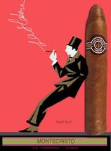 Quality Tobacco POSTER.Cuban Cigar.Montecristo.Havana Cuba.Room home decor.q0094 - $9.90+