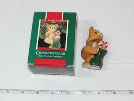 Hallmark keepsake ornament Cinnamon Bear porcelain craft 1989 used - $15.97