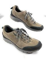 Clarks Trek Wave Walk Sneakers Shoes Gray Waterproof Nubuck Leather Wome... - $49.49