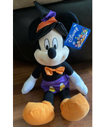 "Disney Toy Factory Mickey Mouse Halloween 17"" Plush Character Rare Candy... - $18.69"