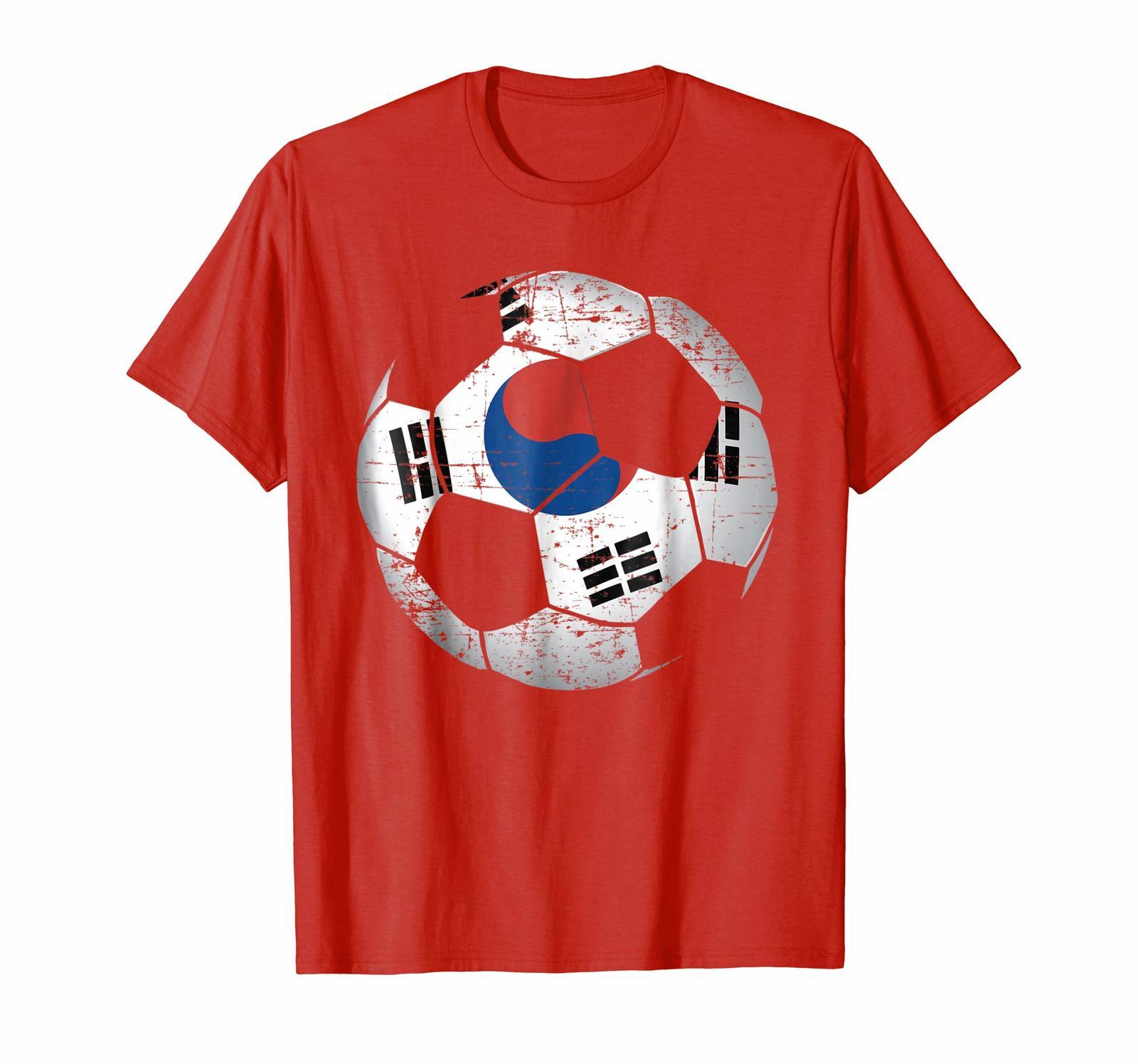 97db4a9a5 ... BB--South Korea Soccer Ball Flag Jersey Shirt - Korean Football Men ...