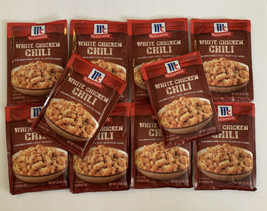 McCormick White Chicken Chili Spice Mix (10 Packs) 1.25 oz BB Feb 2022 - $29.99