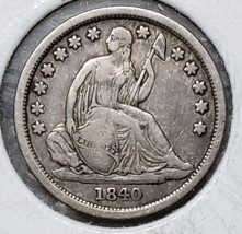 1840O Silver Seated Dime 10¢ Coin Lot# A 199