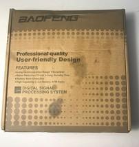 BaoFeng Black Professional FM Transceiver Digital Signal Processing Syst... - $29.95