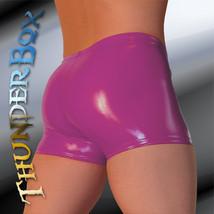Thunderbox Glossy Magenta PVC Gladiator Shorts! S-M-L-XL - $25.00