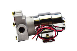 A-Team Performance 30-155 Electric Inline Fuel Pump 12V 155 GPH at 14PSI Chrome image 8