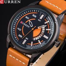 Curren 8298 Fashion Hot Fashion Creative Design Wrist Watch  Dial Quartz Men Wat - $103.64