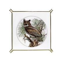 Vintage Mid Century OWL Footed Tile Trivet Hot Plate | SAJI Japan | Orig... - $18.76