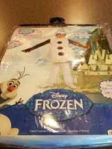 DISNEY FROZEN,  OLAF, CHILD COSTUME, SMALL, 4 -6 - $14.40