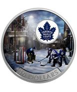 Passion to Play: Toronto Maple Leafs - 1/2 oz Pure Silver Coin - $110.00