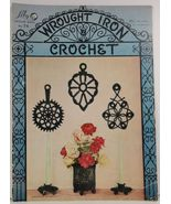 Wrought Iron Crochet Lily Design Book No. 74 Lily Mills Company - $2.99