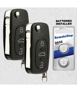 2 For 98 1999 2000 2001 Volkswagen Beetle Golf Jetta Passat Car Remote K... - $24.70