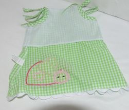 Mud Pie Baby Green Red Gingham Tunic Top Flare Pants 12 18 Months image 6