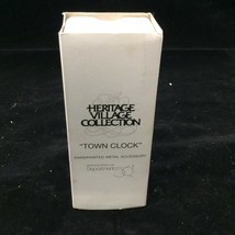 Dept 56 Heritage Village Collection Town Clock # 52591 - $19.75