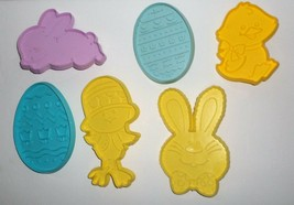 Vintage Hallmark Easter Spring Cookie Cutters Lot Eggs Bunny Rabbit Chic... - $10.00
