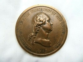 George Washington 1789 Bronze Medal 3 Inch Commemorative Presidential Coin - $35.16