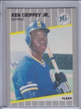 KEN GRIFFEY Jr. 1989 Fleer RC #548 (C2302) - $6.26