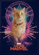 Captain Marvel Movie Goose the Cat Image Refrigerator Magnet NEW UNUSED - $3.99
