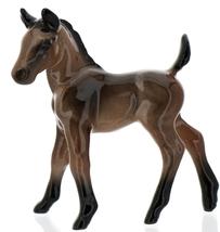 Hagen-Renaker Miniature Ceramic Horse Figurine Wild Mustang Colt Bay image 9