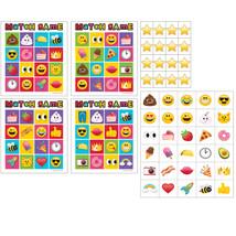 "Poop Emojions 8 1/2"" x 6"" Match Game, Case of 60 - $44.59"