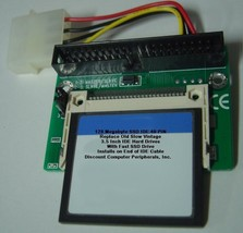 """128 Megabyte SSD Replace Vintage 3.5"""" IDE Drives with 40 PIN IDE SSD Card"""