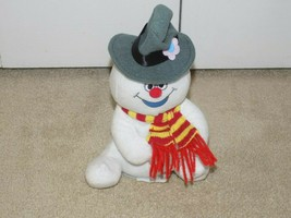 Gemmy Singing Frosty The Snowman w/Light Up Snowflake - $11.87