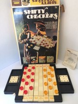 Vintage Aurora Shifty Checkers Board Game From 1973 COMPLETE! - $29.99