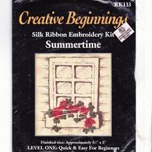 Creative Beginnings Silk Ribbon Embroidery Kit ... - $4.95