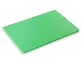"Star Foodservice Cutting Board 12"" x 18"" x 0.5 Green - $15.65"
