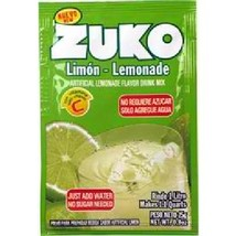 Zuko Lemonade Drink Mix (96x0.9OZ ) - $81.37
