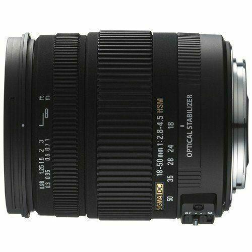 Sigma DC 18-50mm f/2.8-4.5 HSM Aspherical OS AF DC Lens For Nikon