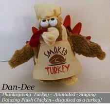"SMOKED TURKEY ""Sing N' Dance"" ""Chicken Dance"" Animated Plush - $30.93"