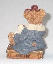 Boyd Bearstone Resin Bears 1993 Bailey Bear With Suitcase Figurine #2000 14E NEW image 2